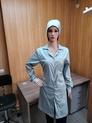 Антистатический женский халат DOKA-ХА